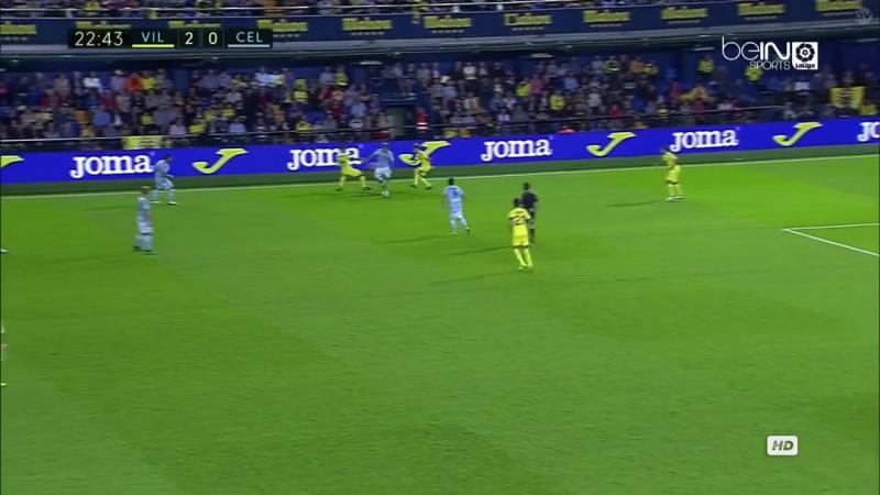 Villarreal vs Celta 16.10.2016 1st half LaLiga 720p