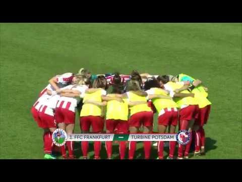 Frankfurt 0 – 1 Turbine Potsdam - Full Match - Bundesliga (22nd April 2018) HD