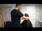 Женская стрижка на кучерявых волосах | Техника стрижки кудрей