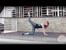 Подъём ноги с коленно кистевого упора