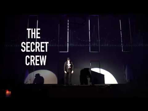 THE SECRET CREW PERFORMANCE ON A NOISE EVENT MOSCOW