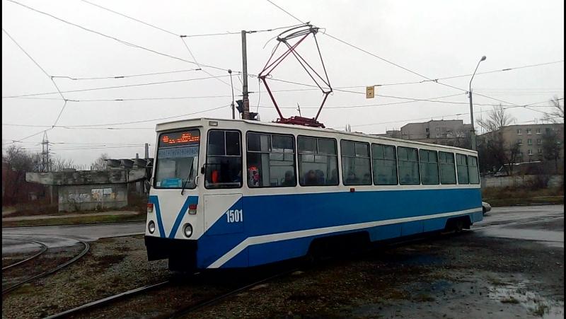 71-605 (КТМ-5) №1501 Проспект свободы г.Днепропетровск