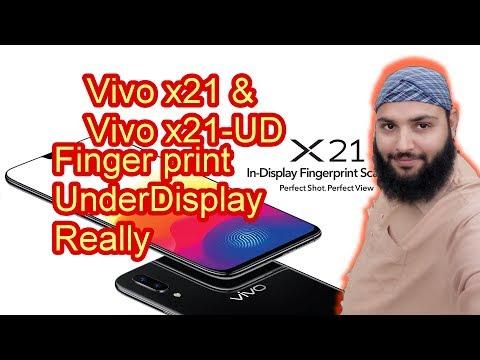 Vivo X21 review with under Display Fingerprint Scanner