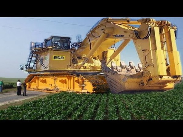 The Most Biggest Modern Technology Excavator Heavy Equipment, Largest Machines Loading In The World