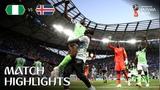 Nigeria v Iceland - 2018 FIFA World Cup Russia - Match 24
