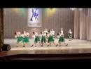 VII Республиканский конкурс хореографического искусства Зимушка - Зима. Танец Девичьи перестуки