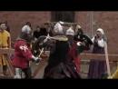 Жестокая драка рыцарей на фестивале Битва на Неве