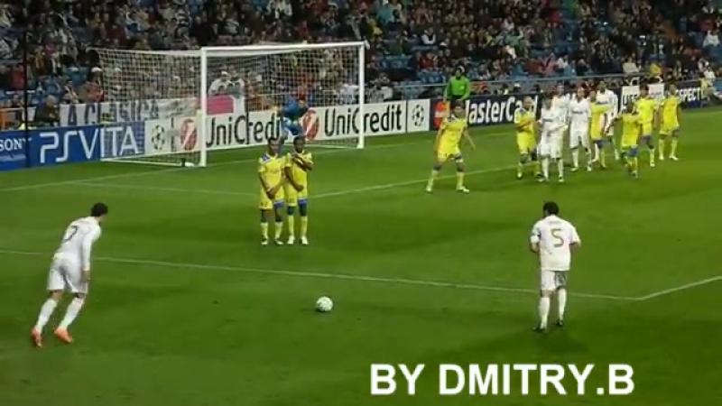 Криштиано Роналдулың керем голдарының бірі!😍