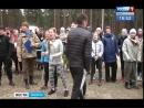 «Зарядка со стражем порядка». Полиция Иркутска провела эстафету для студентов