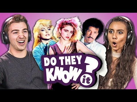DO COLLEGE KIDS KNOW 80s MUSIC? 11 (REACT: Do They Know It?)