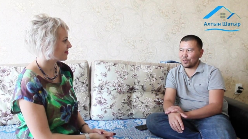 В гостях у пайщика кооператива Алтын Шатыр Амерханова Аскара