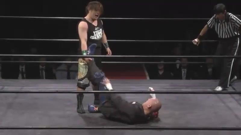 Kenichiro Arai vs. Yasu Urano (Mr. Gannosuke Produce Kishindo Returns Final)