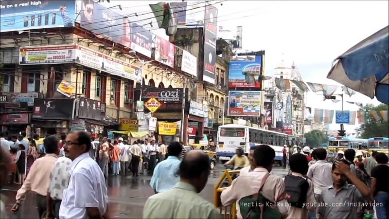 Hectic Kolkata- India