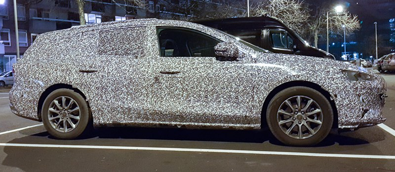Шпионские снимки нового универсала Ford Focus