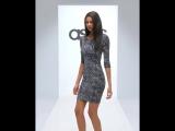 Облегающее черное платье New Look ASOS диаманты