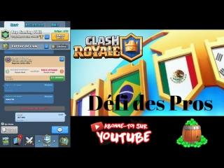 Clash Royale Défi des Pros | La Ligue Clash Royale arrive avec le Défi des Pros