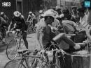 Quand les coureurs du Tour de France sarrêtaient dans les bistrots pour se désaltérer - 1963 Когда бегуны тур де Франс остано