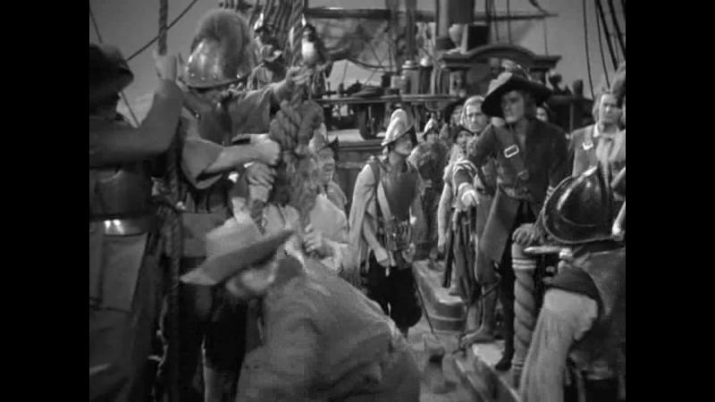 ОДИССЕЯ КАПИТАНА БЛАДА (1935_ приключения, экранизация. Майкл Кёртиц 720p]