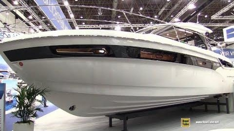 2018 Bavaria S40 Coupe Motor Yacht - Walkaround - 2018 Boot Dusseldorf Boat Show