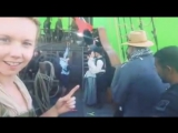 Lauren Lyle, Caitriona Balfe e Sam Heughan, Behind The Scenes S3