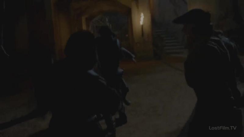 Ночной налёт пиратов на колонию