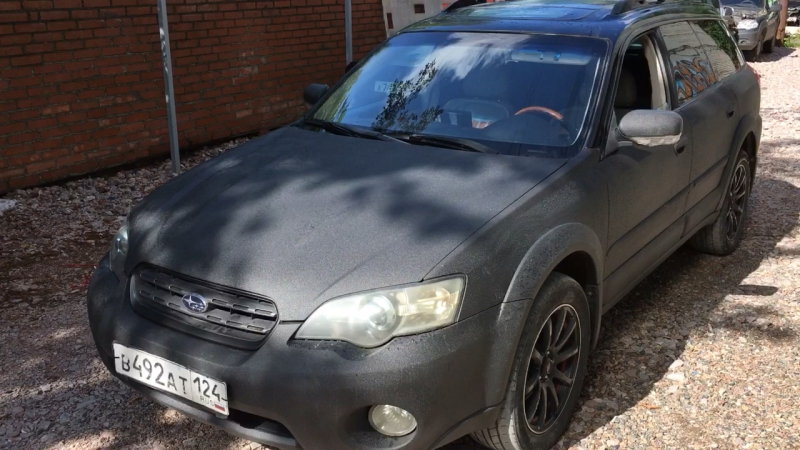 Subaru в сверхпрочном RAPTOR. Pldip24.ru