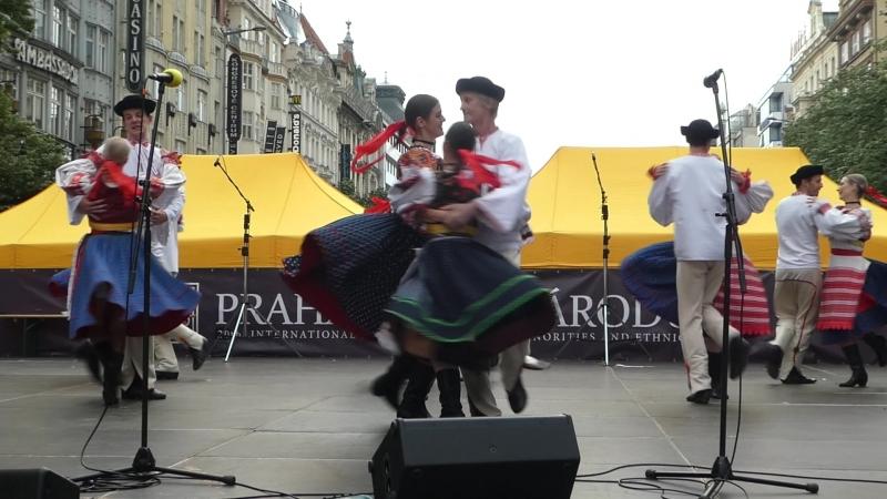 В Праге стартовал фольклёрный фестиваль Praha srdce národů 2018.