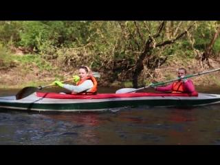 Сплав на байдарках река Лучёса