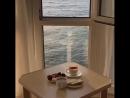 Утро из номера гостиницы Санта Барбара Крым Алушта Утес