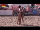 Andrea Martinez - Indoor Beach Volleyball Highlights