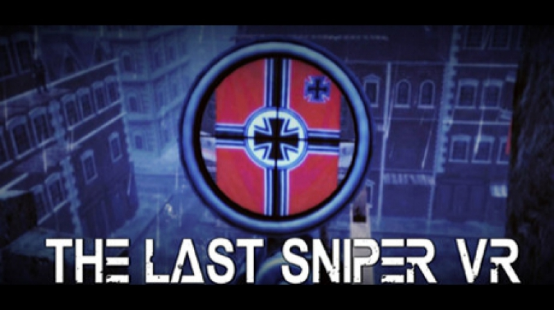 Dark Zone Club. Game 49 The Last Sniper VR , игра для очков виртуальной реальности HTC Vive