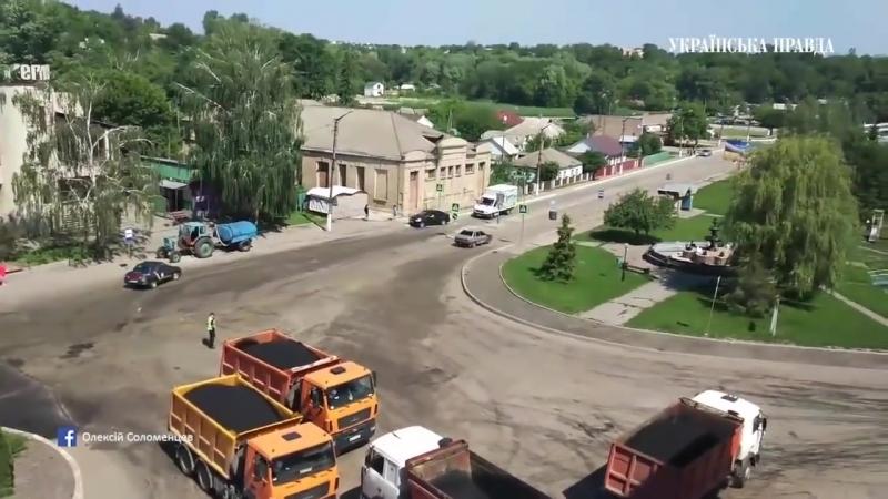 В Городе Ржищеве Киевской области девушка устроила погоню полицейские применили оружие.