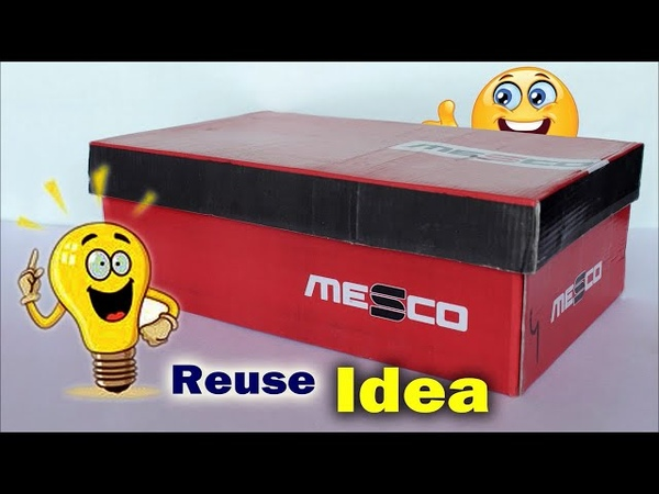 How to Reuse Waste Shoes Box || Best out of Waste Idea | Fish House making at home || DIY Room Decor