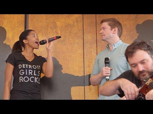 Hamilton's Final Ham4Ham! Renée Elise Goldsberry Sings Cut Song Congratulations
