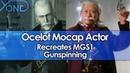 Ocelot Mocap Actor Recreates MGS1 Gunspinning