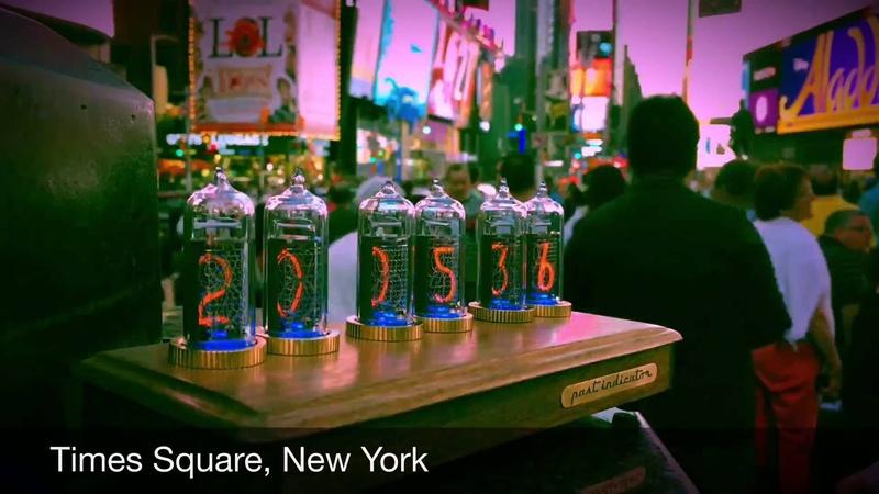 Past Indicator Nixie Clock in USA New York
