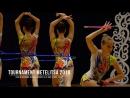 Нижний Новгород СДЮСШОР 16 (МС) 3 обруча 2 булавы Rhythmic Gymnastics Tournament Metelitsa 2018