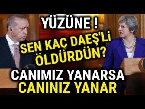 Erdoğan, Theresa Mayin Yüzüne Çatır Çatır Konuşuyor.