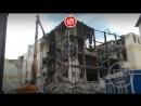 В Кемерове приступили с сносу основного здания сгоревшего ТЦ Зимняя вишня