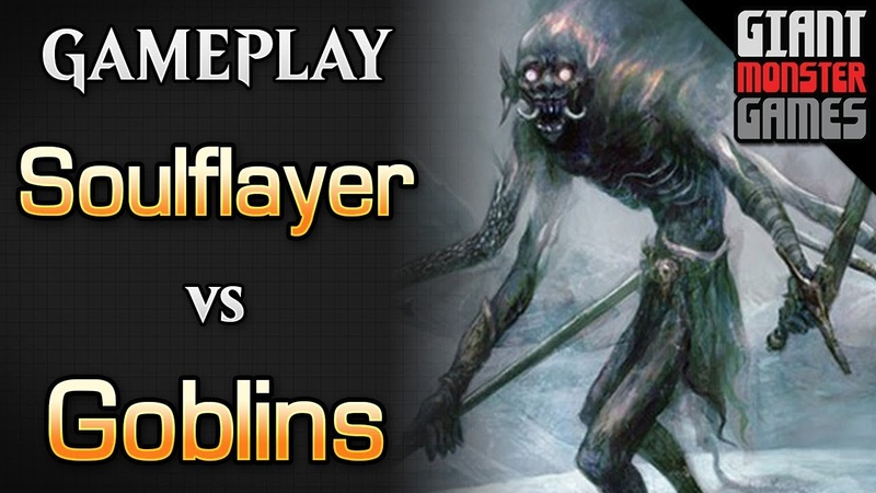 Budget Soulflayer Combo -vs- Goblins - MTGO Gameplay 04