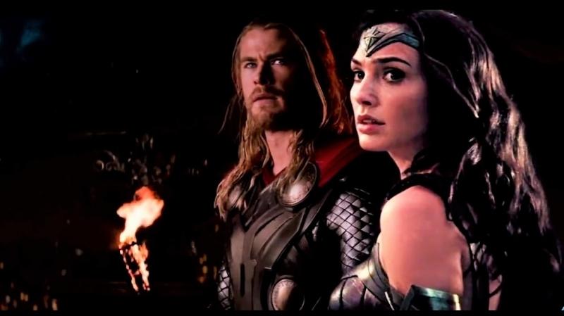 Кризис Бесконечности (ФАН-трейлер): Мстители против Лиги СправедливостиAvengers v Justice League Infinity Crisis - Announcement