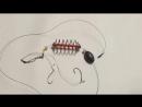 Фидер. Донка. Изготовление инлайн монтажа с применением кормушки-пружины, расположенной перед скользящим грузилом......