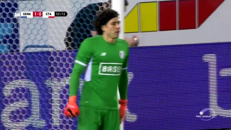 Guillermo Ochoa Vs KRC Genk (Away) 2017-18 HD 1080i (Play Off) - YouTube
