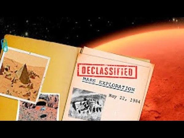 CIA-Dokumente Belegen , Dass Der MARS Von RIESIGEN WESEN Bewohnt Wurde