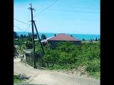 По этой дороге наши участники ходят купаться в Черном море из Гостевого дома У Шоты | KonnerTV
