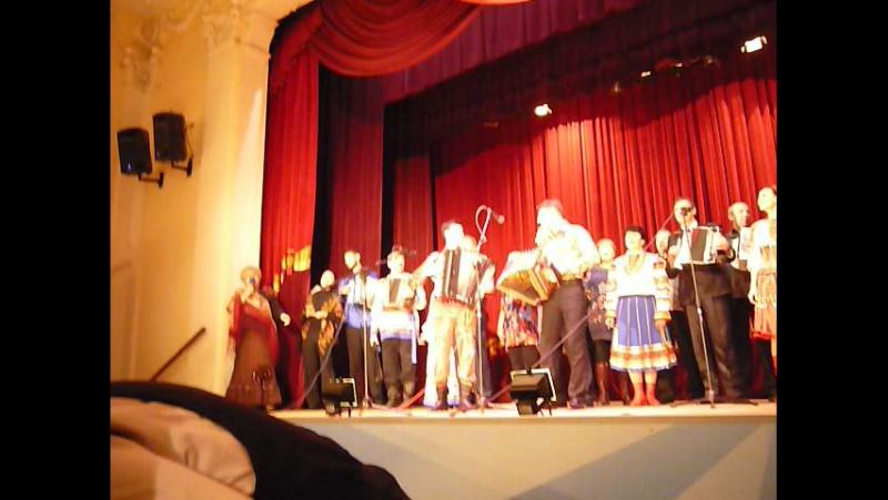 Финал концерта в г.Истра в