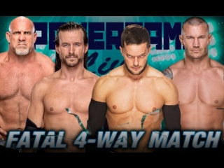 PowerGame Live от 25.02.2018: Randy Orton vs Finn Balor vs Adam Cole vs Goldberg
