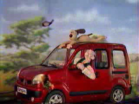 Wallace And Gromit - Renault Kangoo Banned commercial