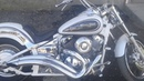 Yamaha Dragstar 400 XVS 400 звук выхлопа