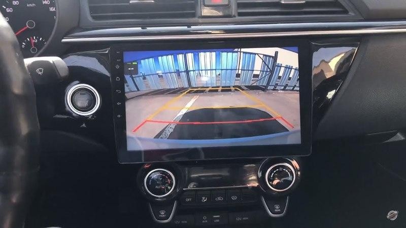 Обзор магнитолы на Kia Rio 2017 Android 7.1.2 Megazvuk T8-9047